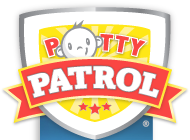 Potty Patrol toilet training alarm diapers logo